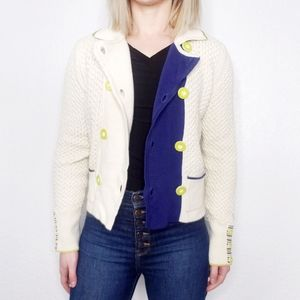 Anthropologie Sparrow Double Breasted Cardigan